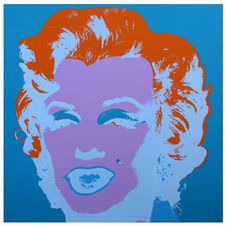 Marilyn ( by Sunday B. Morning ) blue