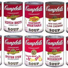 Campbell´s Soup Cans Serie 2 set of 10 (by Sunday B. Morning)