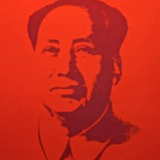 Mao Silkscreen Prints (by Sunday B. Morning)