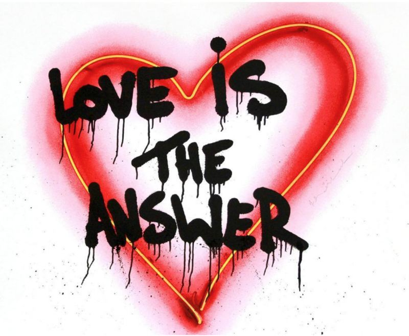 Speak from the heart ( Love is the answer)