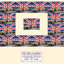 Big Ben Flagsky / Urethra Postcard Pieces