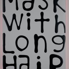 Mask With Long Hair