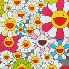 Field of Smiling Flowers