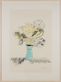 Andy Warhol - Flowers (hand-colored), 1074