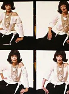 Bert Stern - Monroe with Jackie O Wig (The Lost Sitting) (1962)