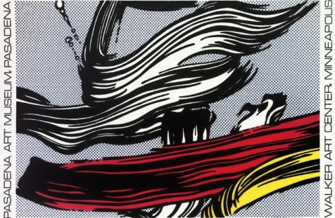 Roy Lichtenstein - Brushstroke, 1967