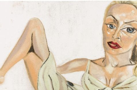 Jerry Hall, 1997 - Francesco Clemente