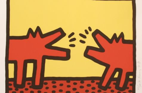 Keith Haring: Pop Shop IV - Barking Dogs