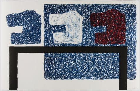 Jonathan Lasker: Domestic Setting, 2002