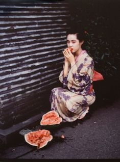 Nobuyoshi Araki - Colourscapes (Watermelon)