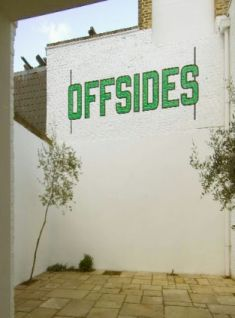 Lawrence Weiner: OFFSIDES, Lisson Gallery