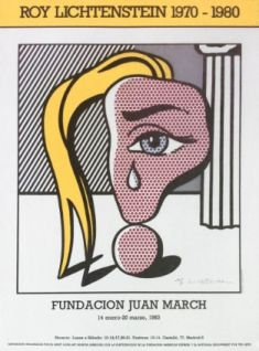 Roy Lichtenstein - Woman with tears, 1983