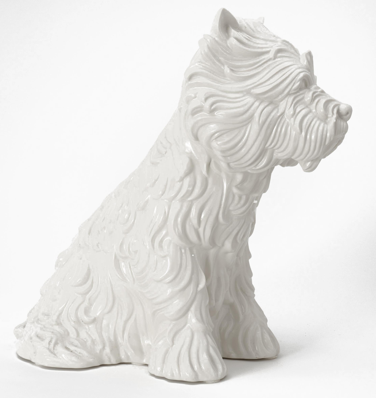 Jeff Koons Object Puppy Vase