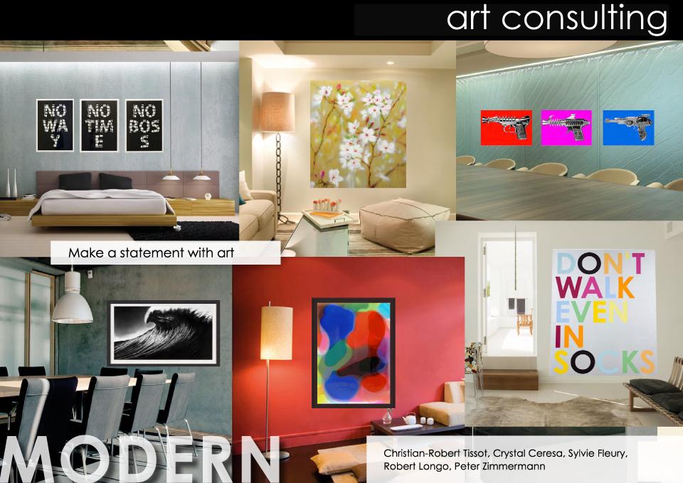 Kunst beratung for Modern rustikal einrichten