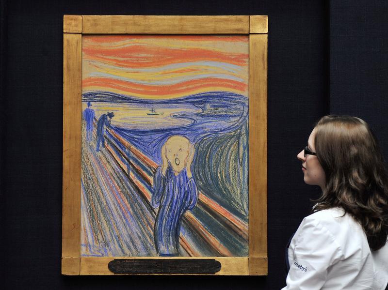 Edvard Munch Der Schrei Analyse